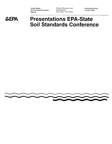 EPA State Soil Standards Conference (English Edition)