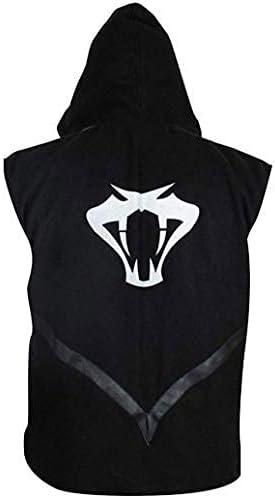 New Mens Wrestling Cotton Hooded Vest