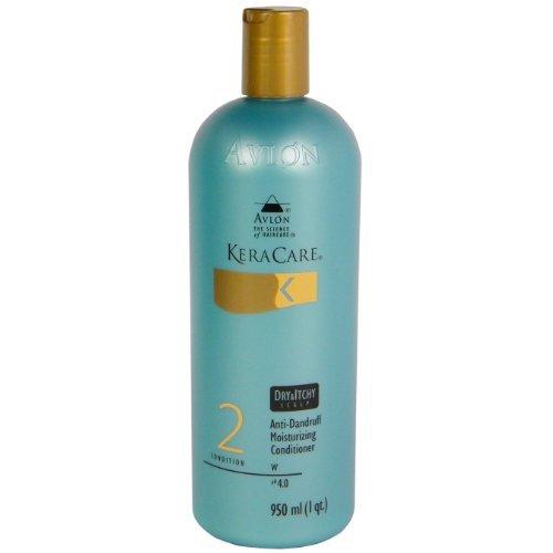 Keracare Dry & Itchy Scalp Anti-Dandruff Moisturizing Conditioner 32 oz by Avlon