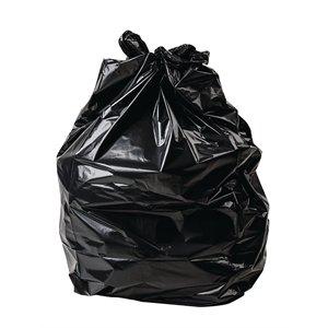 JANTEX 200x Bolsas de Basura Resistente estándar Negro–General residuos Wham–Bolsas de Basura Bolsas de Basura