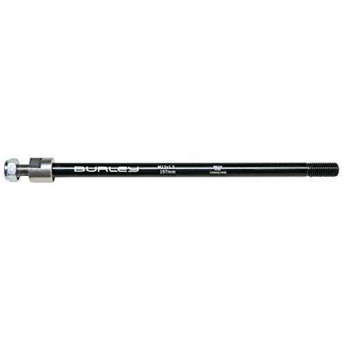 Burley Erwachsene Steckachse Fahrradanhänger, Silber, M12x1,5-197mm