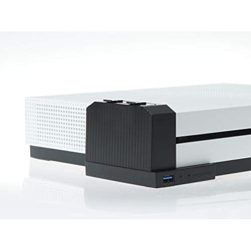 AmazonBasics - Caricabatterie per controller, per console Xbox One S, nero