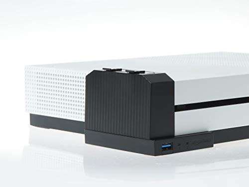 AmazonBasics - Cargador de batería de mando (para la consola Xbox One S), negro