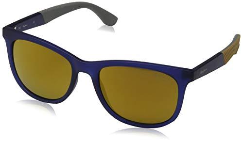 Pepe Jeans Damon Gafas de sol, Azul (Navy/Brown), 54.0 Unisex Adulto