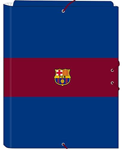 Cartella Folio con 3 alette della F.C. Barcellona 1ª divisa 21/22, 260 x 365 mm