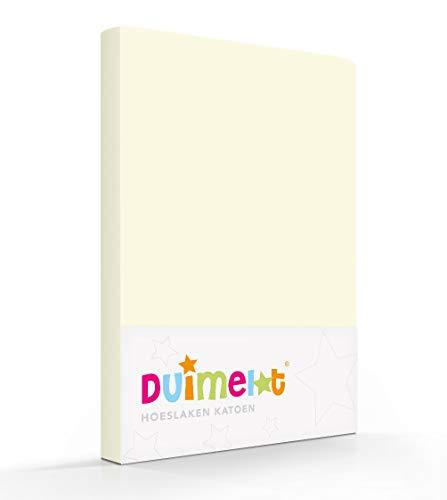 Duimelot ivoor 100% Katoen Junior hoeslaken 70x140/150