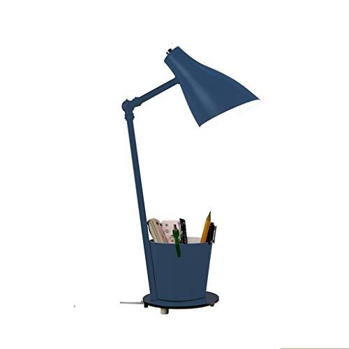SHIJIE1701AA Lámpara de Mesa Escritorio LED Lámpara Oficina del Cuidado del Ojo lámpara de Mesa Grande para, hogar, Dormitorio, Universidad Noche Lámpara de Mesa