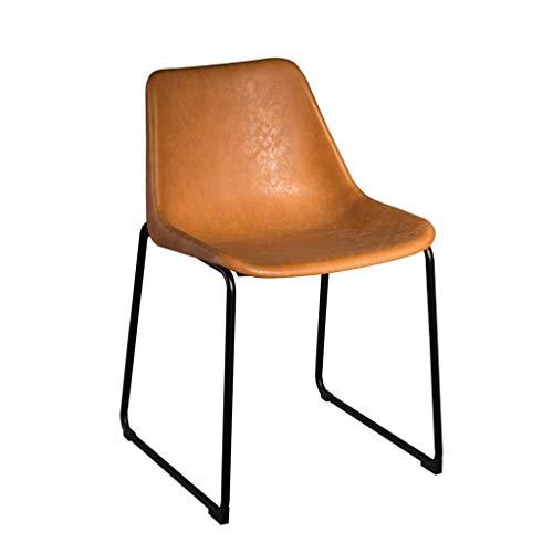Sedia da Pranzo Sedia da Pranzo Schienale per la casa Sedia in Metallo Trucco Scrivania per Il Tempo Libero Sgabello da Ufficio