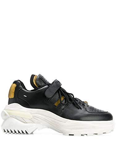 Maison Margiela Luxury Fashion Uomo S37WS0465P2082T8013 Nero Pelle Sneakers   Autunno-Inverno 19