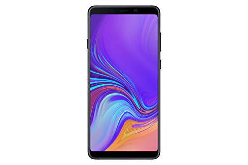Samsung Galaxy A9 (Single SIM) 128GB 6.3 Inch FHD+ Android 8.0 Oreo UK Version SIM-Free Smartphone – Black