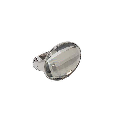 CALVIN KLEIN J10BR010206 damesring roestvrij staal kleur zilver KALVIN K. ring J10BR010206 maat 13