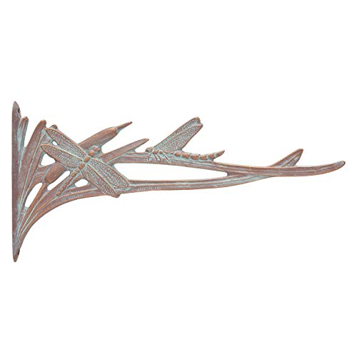 Whitehall Products Dragonfly Nature Hook, Copper Verdi