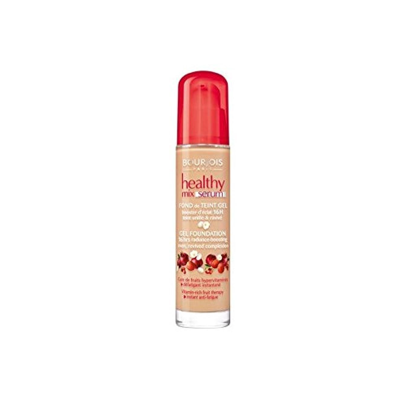 市場矢旅行者Bourjois Healthy Mix Serum Foundation Beige Fonce 55 (Pack of 6) - ブルジョワヘルシーミックス血清基盤ベージュ 55 x6 [並行輸入品]