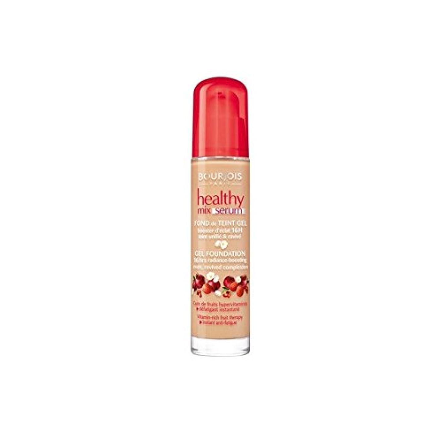 ダーベビルのテス本物利得Bourjois Healthy Mix Serum Foundation Beige Fonce 55 (Pack of 6) - ブルジョワヘルシーミックス血清基盤ベージュ 55 x6 [並行輸入品]