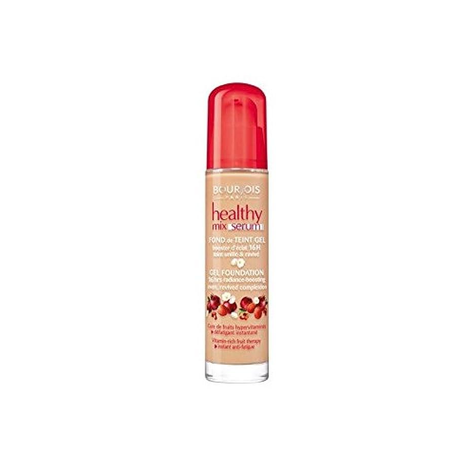 ロッカーマラソン沈黙Bourjois Healthy Mix Serum Foundation Beige Fonce 55 (Pack of 6) - ブルジョワヘルシーミックス血清基盤ベージュ 55 x6 [並行輸入品]
