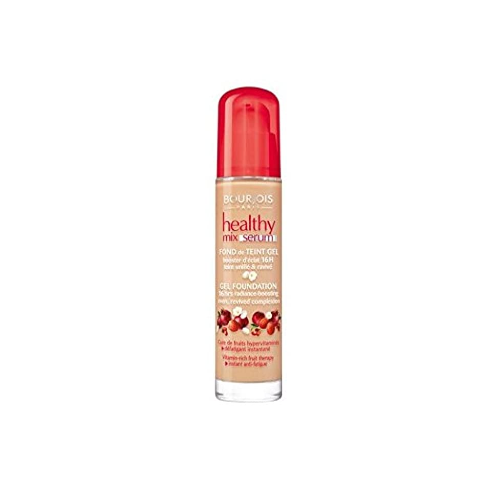 復讐掃くレンドBourjois Healthy Mix Serum Foundation Beige Fonce 55 (Pack of 6) - ブルジョワヘルシーミックス血清基盤ベージュ 55 x6 [並行輸入品]