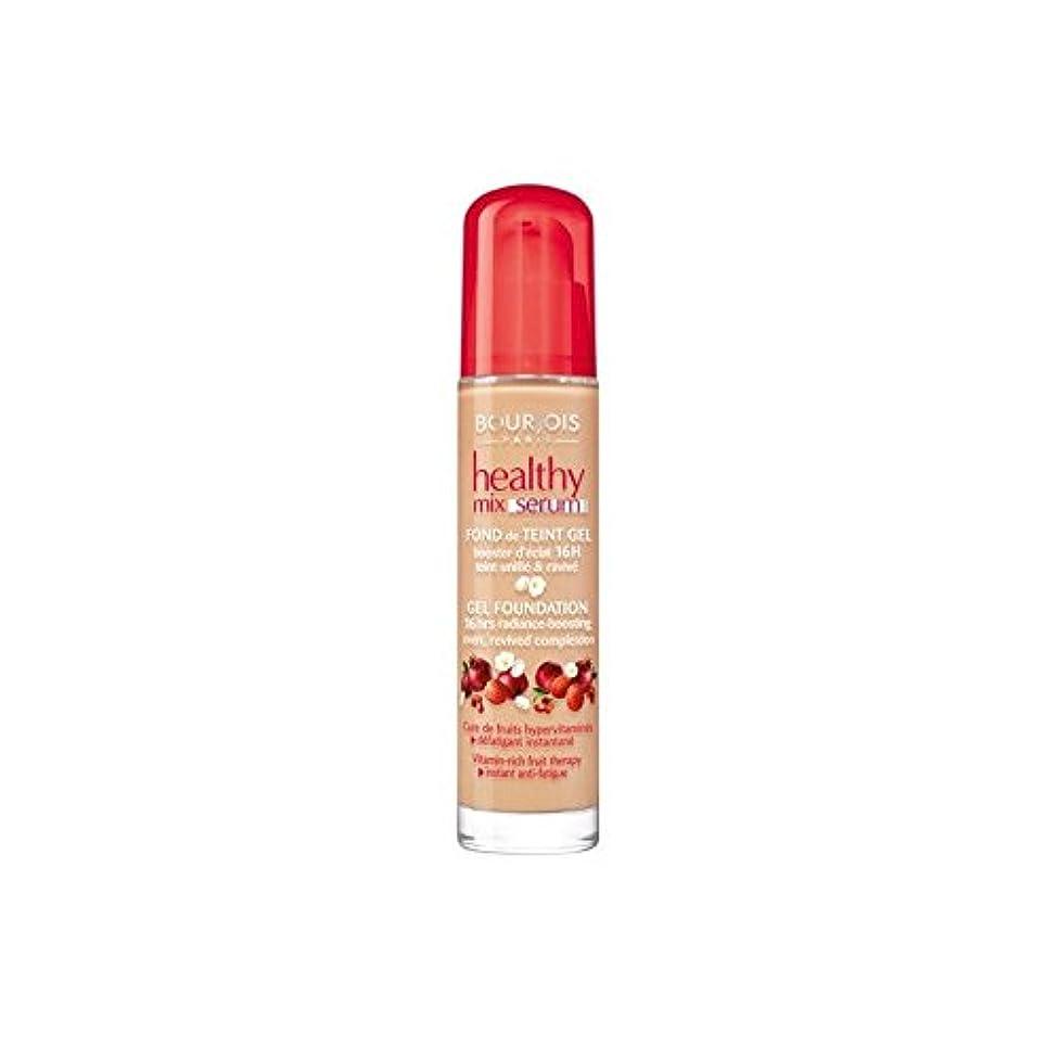 有効化大有益なブルジョワヘルシーミックス血清基盤ベージュ 55 x2 - Bourjois Healthy Mix Serum Foundation Beige Fonce 55 (Pack of 2) [並行輸入品]