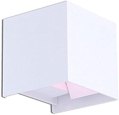 Amazon.com: Lysed LED Aluminio Impermeable Lámpara de Pared ...