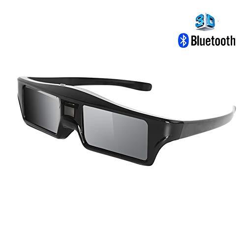 Visualización 3D Gafas, Bluetooth Activo reemplazo del Obturador Gafas 3D Samsung SSG-5100GB Sony Gafas 3D TV Epson RF ELPGS03 Gafas 3D TV