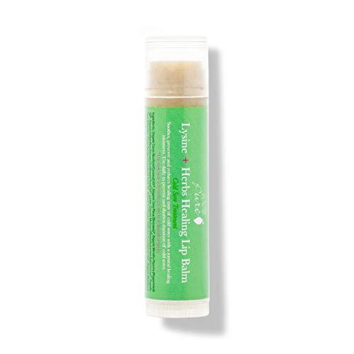in budget affordable Lip Balm 100% Pure Lysine + Herbal Healing Lip Balm