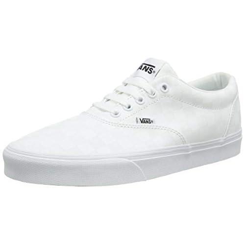 Vans Doheny, Sneaker Uomo, Bianco Scacchiera Bianco W51, 42 EU