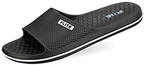 FLITE Men's Black Clogs-8 UK/India (42 EU) (FL0245G_BKBK0008)