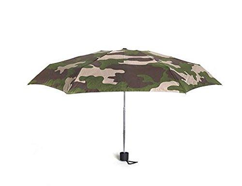 Kikkerland Mini Regenschirm, 17 cm, Camouflage