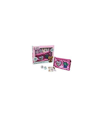 Giochi Preziosi LOL Surprise, Glitter Kit Party, Crea Tatuaggi Lol con Effetto Glitter