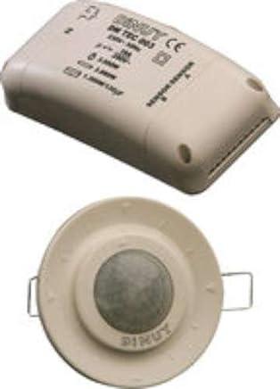 Dinuy DM.TEC.002 - Detector techo empotrar 2 canales 360 diámetro 6,