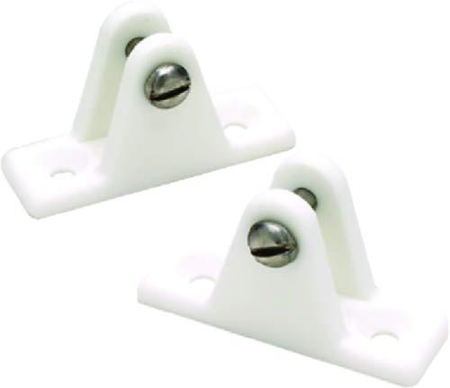 Seachoice 50 – 76241 Charnière Plastique, pour boîtier, blanc