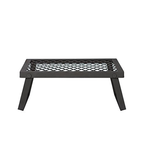 Amazon Basics Medium Portable Folding Camping Grill Grate - 18 x 12 x 7...