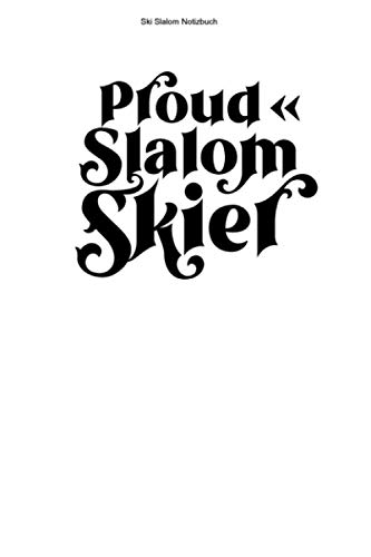 Ski Slalom Notizbuch: 100 Seiten | Kariert | Torlauf Rennläufer Skifahrer Riesenslalom Geschenk Skirennläufer Skier Rennen Skifahren Team Ski Wintersport Skirennen