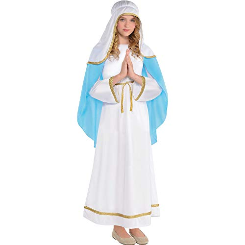 amscan 8400964 Girls Holy Virgin Mary Costume - Large (12-14) 1 ct