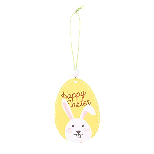 Easter Decoration, Wooden Easter Hanging Pendant Wall Door Decor Decor For Home,Home Ornaments Household Decoration Toys Gift Easter Party Favor for Kids Children Adults