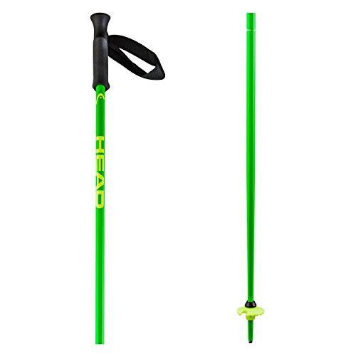 HEAD Erwachsene Skistock Classic, Neon Green, 115