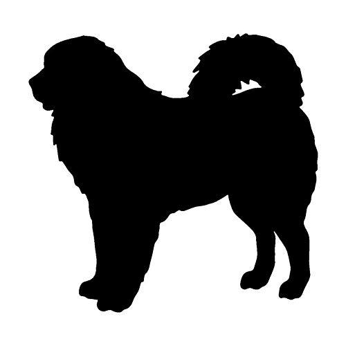 13.2 * 12.7CM Tibetan Mastiff Dog Motorcycle Stickers Personalized Cartoon Car Window Decorative Decals C6-0922