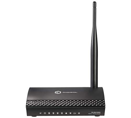 DigiSol DG-BG4100NU Wireless Broadband Router (White)
