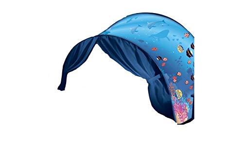 DreamTents Fun Pop Up Tent- Undersea World- Twin (w/Light)