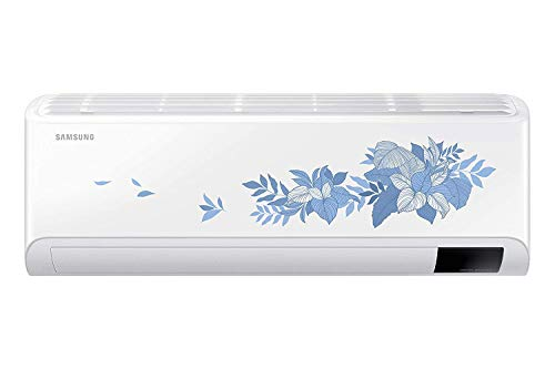 Samsung 1.5 Ton 3 Star Inverter Split AC (Copper, Convertible 5 in 1, HD Filter, 2021 Model, Floral pattern, AR18AYLYATB)