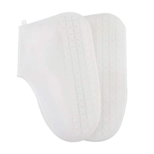 Adiken Mehrfarbige Silikon-Überschuhe, Regenschutz, wasserfest, für Schuhe, Stiefel, Überziehschutz, recycelbar, 12, S