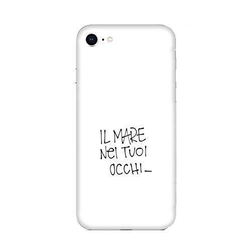 Funda iPhone 6 Plus Carcasa Compatible con Apple iPhone 6 Plus Amor de San Valentín El mar en Tus Ojos/Imprimir también en los Lados. / Teléfono Hard Snap en Antideslizante Antideslizante Anti-ra