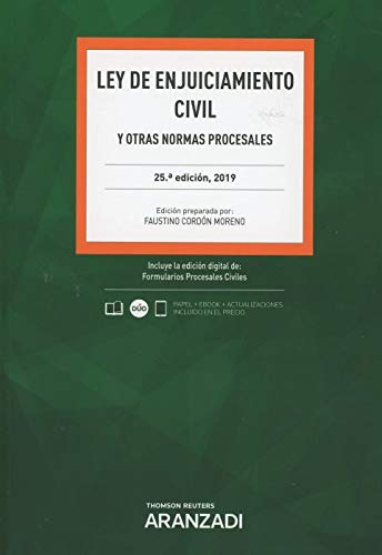 Ley de Enjuiciamiento Civil (Papel + e-book): y otras normas procesales: 3 (Código Básico)