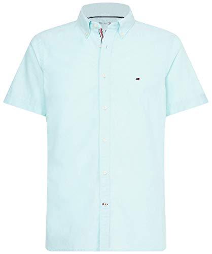 Preisvergleich Produktbild Tommy Hilfiger Herren Slim Organic Oxford Shirt S / s Sweatshirt,  Grün