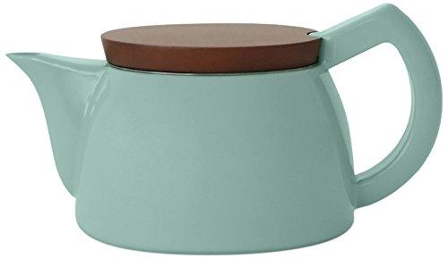 Sowden SoftBrew Teekanne Jakob 0.5L mintgrün mit Holzdeckel