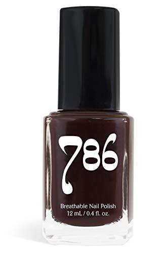 786 Cosmetics Istanbul - (Maroon) Vegan Nail Polish, Cruelty-Free, 11-Free, Halal Nail Polish, Fast-Drying Nail Polish, Best Maroon Nail Polish