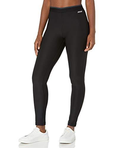 Amazon Essentials Women's Elastic Waist Performance Full-Length Legging, Black, Small