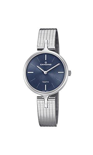 Candino Reloj Análogo clásico para Mujer de Cuarzo con Correa en Acero Inoxidable C4641/2