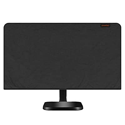 Pawtec Flat Screen Monitor Cover Scratch Resistance Lycra Full Body Sleeve for LED LCD HD Panel