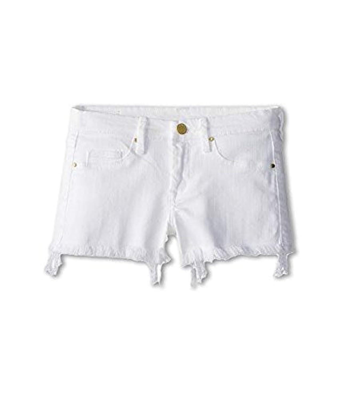 ブランクニューヨークシティー Blank NYC Kids キッズ 女の子 ショーツ ハーフパンツ White Lines Cut Off Shorts in White Li [並行輸入品]