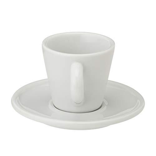 BIALETTIカップ&ソーサーおじさんエスプレッソホワイトカップ約幅5.7×高さ7.5×奥行5.5cmソーサー約直径10.8×高さ1.3cmY0TZ098